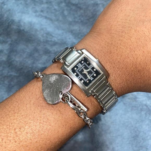 Silver watch set